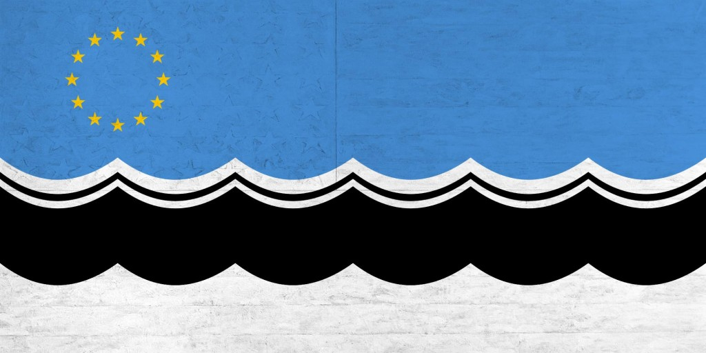 Estonian EuroSSR Flag