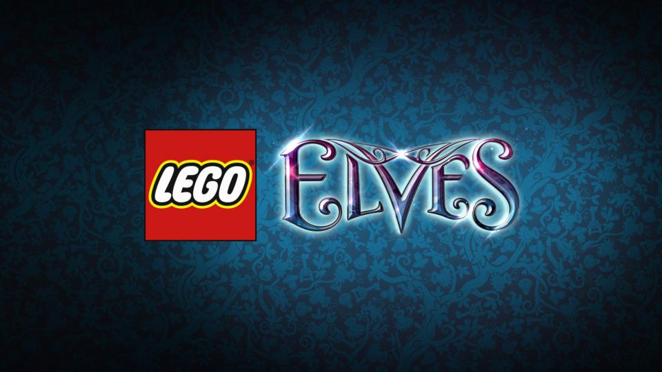 LEGO Elves Logo Plate
