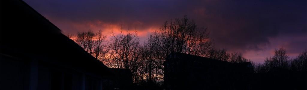 Chocolate Factory Sunset
